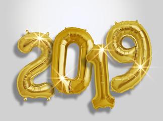 Ballon doré nouvel an 2019