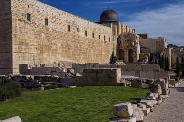 Tempel Mount historical Landscape Jerusalem Israel