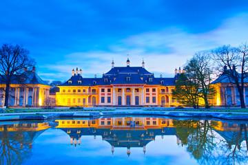 Foto op Canvas Berlijn Schloss Pillnitz in Dresden, Deutschland