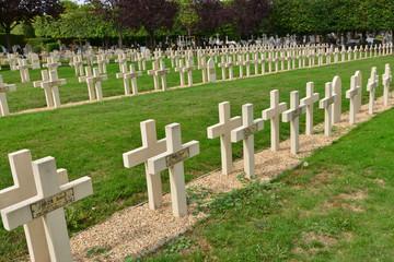 Saint Germain en Laye; France - september 4 2017 : cemetery