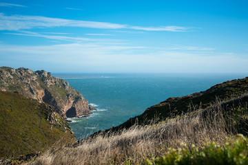 Day picture of the shoreline at Cabo de Roca
