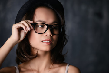 vietnamese woman in glasses