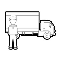 Box man and truck design