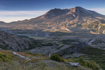 Beautiful Mount St. Helens National Volcanic Monument in Washington State, U.S.A.