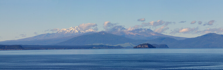 Lake Taupo, volcanoes