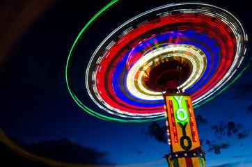 Carnival ride Yo Yo