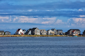 Houses in magdalen island
