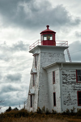 Blockhouse lighthouse in Prince Edward island