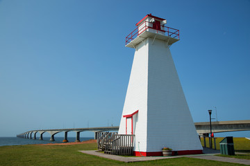 Port Borden Range Front Lighthouse in Prince Edward island