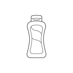 Icon line bottle shampoo
