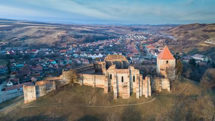 The Slimnic fortress. Transylvania, Romania