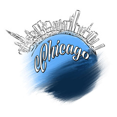 Chicago Landmark Logo Design