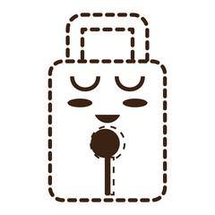 kawaii padlock icon image