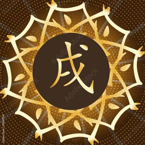 Chinese Horoscope Yellow Earth Dog Chinese Happy New Year 2018