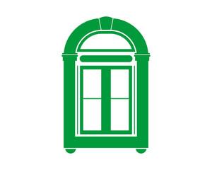 green window icon interior exterior furnishing furniture household
