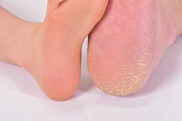子供の足と大人の足