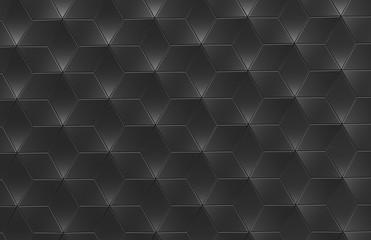Geometric black background
