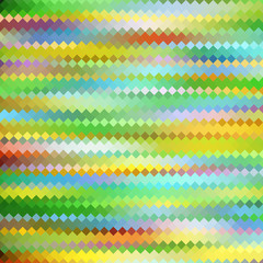 Abstract color mosaic