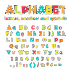 English alphabet, uppercase and lowercase letters