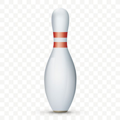 Bowling Pin Transparent