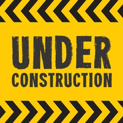 Under Construction Badge Logo
