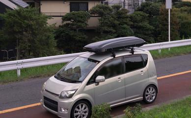 ルーフキャリアボックス 軽自動車