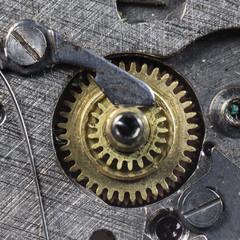 clockwork old mechanical watch