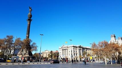 Monument de Colomb, Barcelone, Espagne