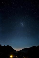 Ciel étoilé, Cilaos, Ile de La Réunion