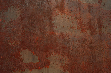 Rust metal background Wall mural