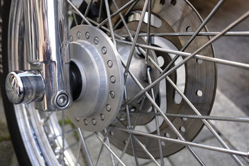 motorcycle wheel details