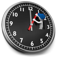 Eine Stunde die Uhr vorstellen