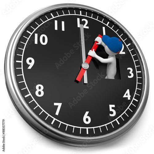 Uhr Vorstellen