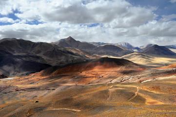 The scenery of Zanda County in Tibet