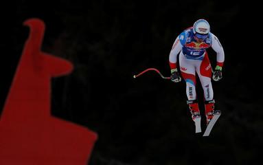 Alpine Skiing - FIS Alpine Skiing World Cup - Men's Downhill Training