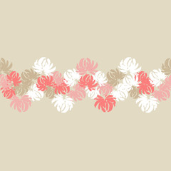 Seamless floral pattern. Flowers background. Textile rapport.