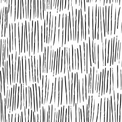 Ink hand drawn abstract seamless pattern