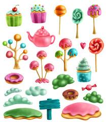 Various magic sweets