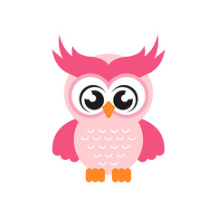 cartoon cute owl