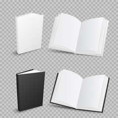books on transparent background