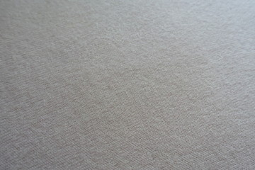 Simple cream white fluffy woolen knitted fabric