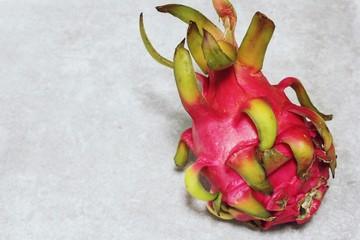 Fresh Dragon fruit still life