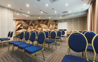 Interior of modern conference hall in hotel