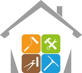 Haus, Hausmeister, Werkzeuge, Hausmeister Service