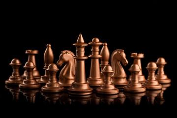 golden chess figure