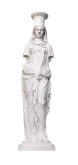 Marble Caryatid, early 19th century, Russian Museum, St. Petersburg, Russia