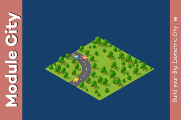landscape speed highway