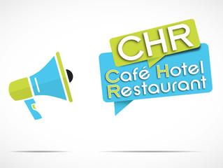 mégaphone : CHR