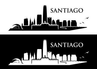 Santiago skyline - Chile