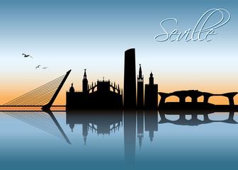 Seville skyline - Spain
